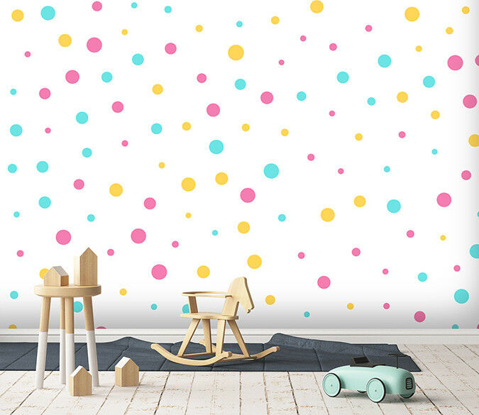 3D Colour Dot Pint 126 WallPaper Murals Wall Decal WallPaper AU Summer