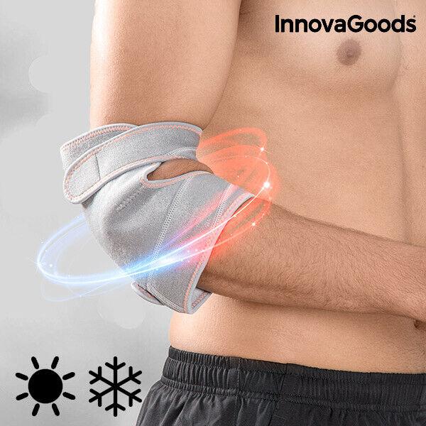 InnovaGoods | Codera de gel con efecto frío y calor | Gris