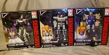 Transformers Titans returns octane / octone Astrotrain blitzwing set of 3 lot