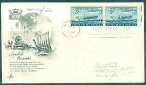 US-FDC-958-SWEDISH-PIONEERS-CANCL-JUNE-4-1948-CHICAGO-ILL-ADDR