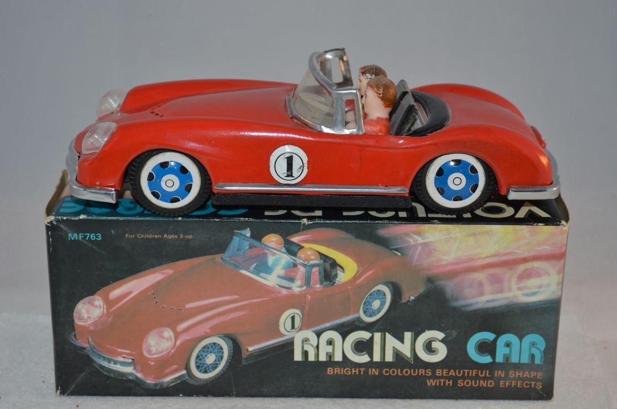 MF763 MF 763 racing car tinplate blech very near mint mint mint in box dd3558