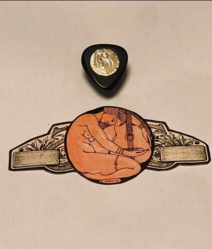 "The /""TURBO/""  Hand Made BRAND NEW. Killy Nonis Gypsy Jazz Guitar Pick"