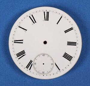 Taschenuhr-Zifferblatt-EMAIL-TASCHENUHRZIFFERBLATT-D45-5-f-Uhr-pocket-watch-dial