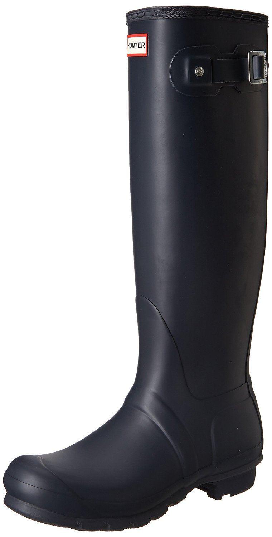 Hunter Orignal Tall Navy Womens Wellington Boots
