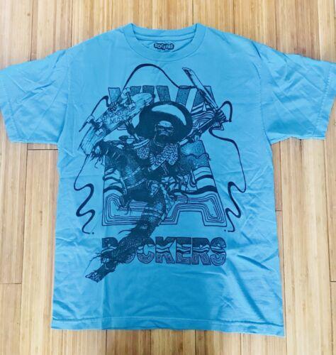 Vintage Rockers NYC Viva La Rockers Skeleton Blue
