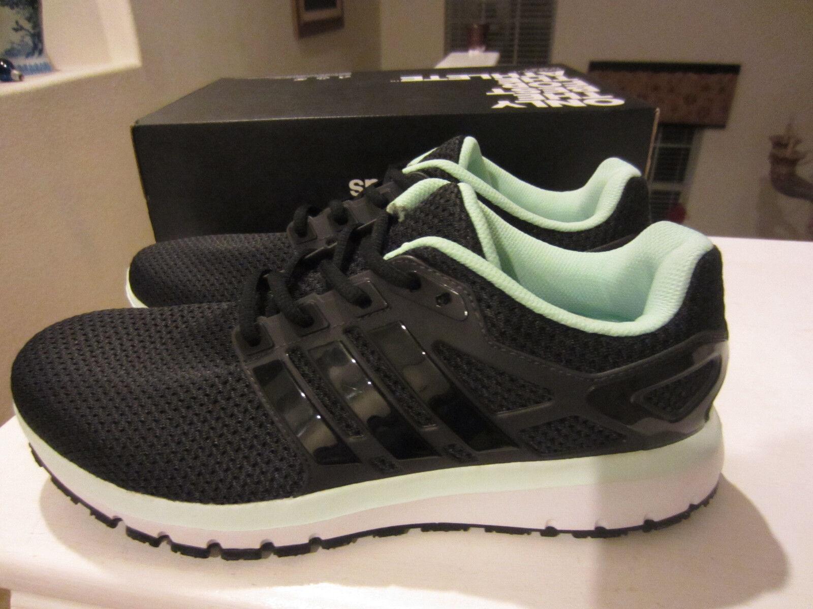 Mens Adidas Energy Cloud WTC Noir Running Athletic Sport  Chaussures  BA7529