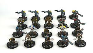 Mage-Knight-STEAMPUNK-MINIATURE-LOT-x20-D-amp-D-Minis-Dungeons-Black-Powder-Rebels-6