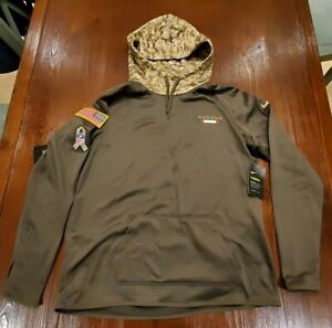 best service 8cbc9 315df Details about Nike Houston Texans Salute To Service Hoodie Womens SZ Medium  $85 NWT Camo Green