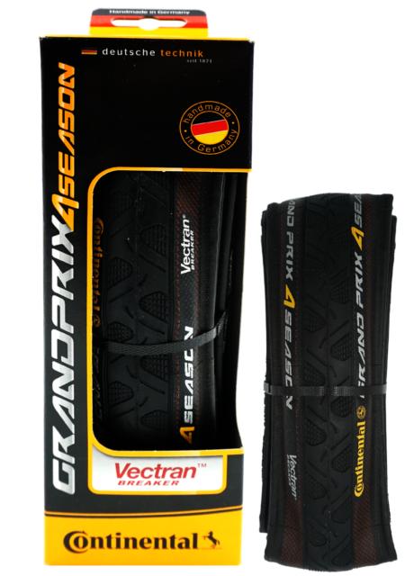 bfa745da6e9 Continental Grand Prix 4season Tire 700x28 Folding Bead Black for ...