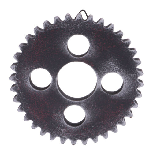 4x Industrial Wooden Wall Hanging Gear for Home Restaurant Wall Decoration