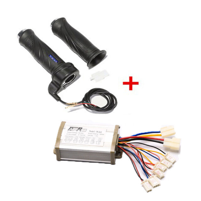 36V 800W MOTOR SPEED CONTROLLER +THROTTLE ELECTRIC SCOOTER BRUSH BIKE BICYCLE