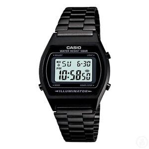 CASIO-Vintage-Series-Black-Retro-Stopwatch-Classic-Digital-Watch-B640WB-1A