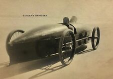 Antique c1906 Stanley Steamer Auto Race Vintage Steam Car Photo