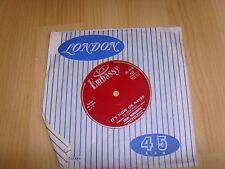 "7"" single vinyl record It's now or never Rikki Henderson"