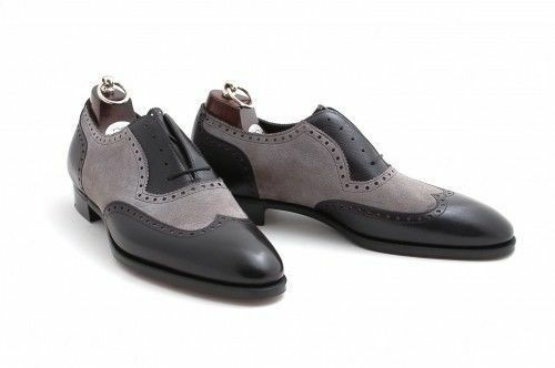 benvenuto a scegliere Men Two note note note business Wingtip Brogue Formal scarpe Uomo pointy toe Dress scarpe  grandi offerte