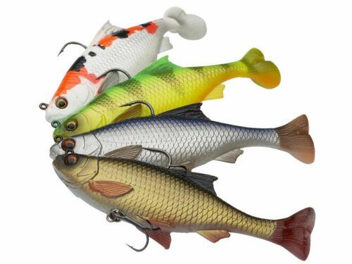 Savage Gear 3D Pulse Tail Roach 10cm 17.5g 2pcs Sinking Soft bait NEW 2020