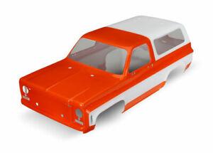 Acheter Pas Cher Traxxas 8130g Carrozzeria Chevrolet Blazer Verniciata Arancione Parfait Dans L'ExéCution