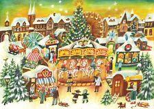 Richard Sellmer Verlag Traditional German Paper Advent Calendar Winter Carousel