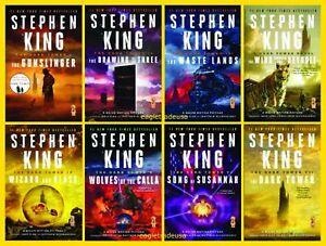Details Sur La Tour Sombre 8 Book Box Set By Stephen King Serie Complete Grand Livre De Poche Afficher Le Titre D Origine