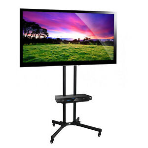 tv lcd plasma led halterung trolley st nder fahrbar. Black Bedroom Furniture Sets. Home Design Ideas