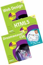 Web Design, HTML5 and Dreamweaver CS6 in easy steps books - special offer set