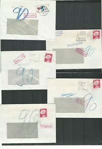 RFA-BUND-816-07-Selection-collection-11-lettres-nachgebuhr