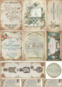 Decoupage-Serviettentechnik-Softpapier-Vintage-Nostalgie-Retro-12057