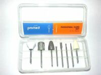 Promed 198014 Schleifkörper, Personal Care Set, 8 Bits