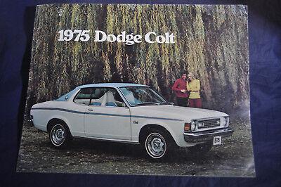 1975 Dodge Colt Mitsubishi Vintage Advertisement Ad
