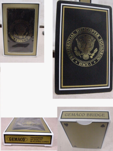 new 3  Presidential Helicopter Squadron  HMX-1 deck of cards