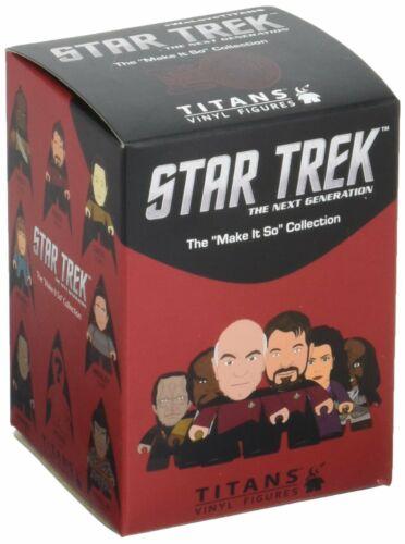 Titans Star Trek TNG Make It So Collection Mini-Figure