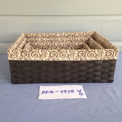 Collection Basket Display Basket Storage Basket Gift Basket Wicker Basket//w Line