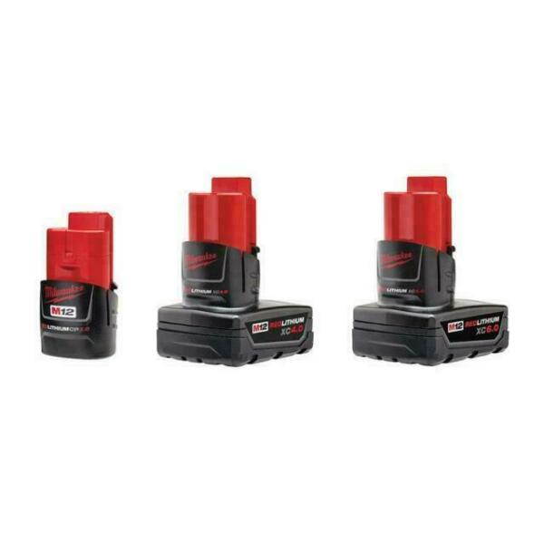 Milwaukee M12 Lithium-Ion Extended Capacity Battery - Pack of 3 for sale online | eBay