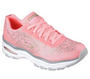 NEU SKECHERS Damen Sneakers Turnschuh Memory Foam D'LITES LIFE SAVER Schwarz | eBay