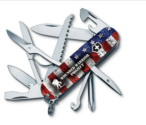 Victorinox Swiss Army 91mm Knife Wounded Warrior