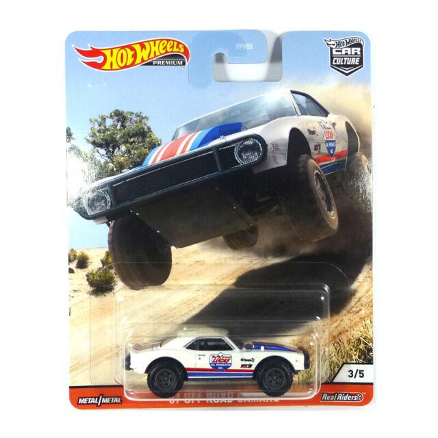 Hot Wheels FPY86-GJP89 off Road Chevrolet Camaro White - Car Culture 1:64 New !°