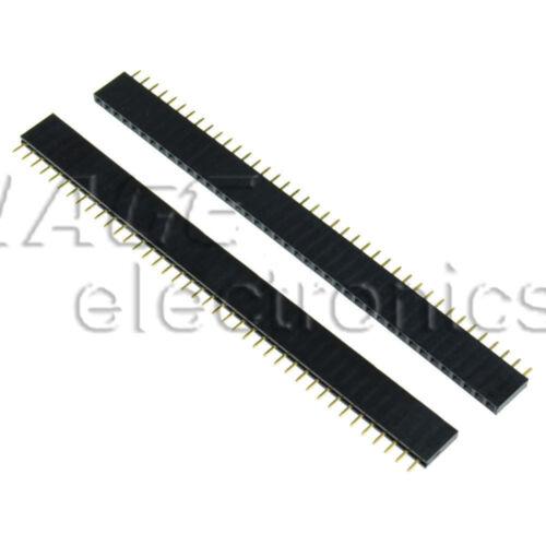 10PCS Male/&Weiblic 40pin 2.54mm Header Socket Single Row Strip PCB Verbinder