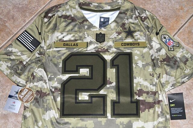 cowboys jersey salute to service