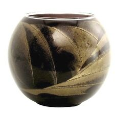 Northern Lights Esque Ebony Black 4 Inch Globe Candle Mysteria Scented Wax