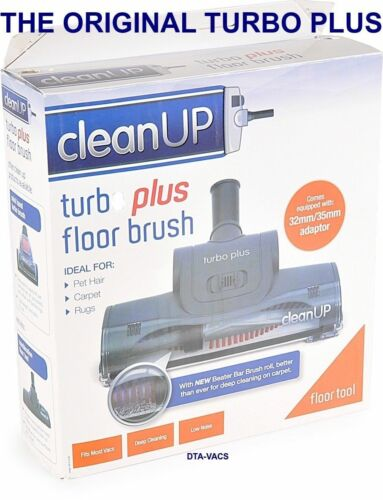 CLEANUP CARPET TURBO PLUS HEAD FOR ALL DUCTED VACUUM CLEANERS 32MM 35MM