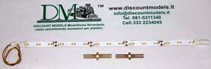 065k D.m. Kit Illuminazione A 15 Led Smd Per Carrozze Luce Fredda Analogico/digi