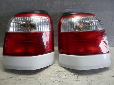 2000 2002 Jdm Subaru Forester Sf5 White Trim Kouki Tail Light Set Factory Oem