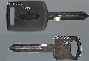 Transponder Key Blank for 2007 2008 2009 Mercury Sable *