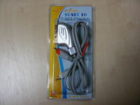 1M SCART TO 2 RCA MALE PHONO CABLE AV AUDIO VIDEO LEAD