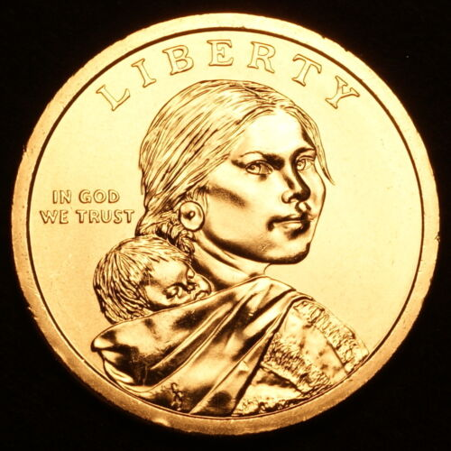 2009 D Sacagawea Native American Dollar ~ Pos A  ~ Choice BU from U.S Mint Roll