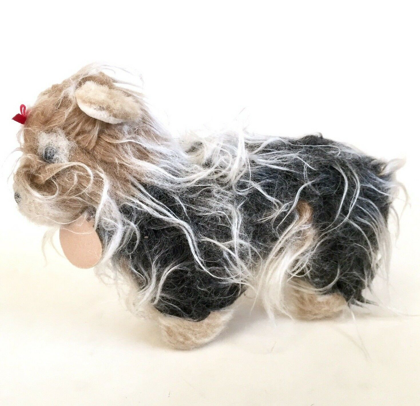 Vtg Prestige Aurora Handmade Shaggy Pet Dog Puppy Plush Stuffed Animal 11