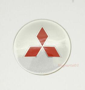 1pcs-65mm-Auto-Rad-Center-Cap-Emblem-Aufkleber-Abzeichen-fuer-Mitsubishi
