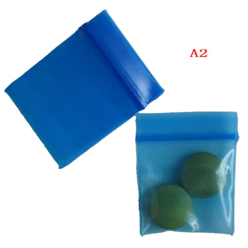 100 Bags clear 8ml small poly bagrecloseable bags plastic baggie APN/_sh