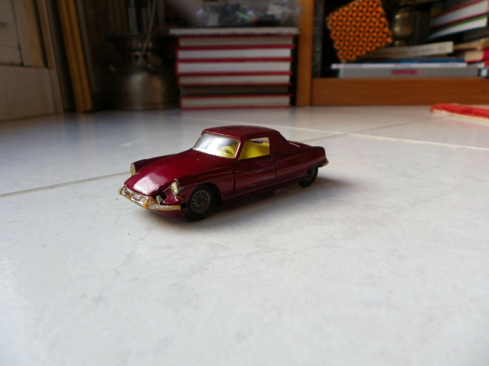 Citroen DS the Dandy Coupé Henri Chapron Corgi Toys 1 43 toy miniature old