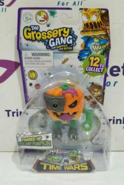New The Grossery Gang Time Wars Powered Up Potato Punk Action Figure